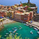 trainingskamp organiseren plannen regelen voetbalteam italie ligurische kust chiavari luchtfoto haven