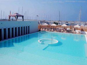 trainingskamp organiseren plannen regelen voetbalteam italie ligurische kust chiavari zwembad