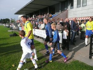 GoCalcio trainingskamp voetbalteam nederland ameland oefenwedstrijd